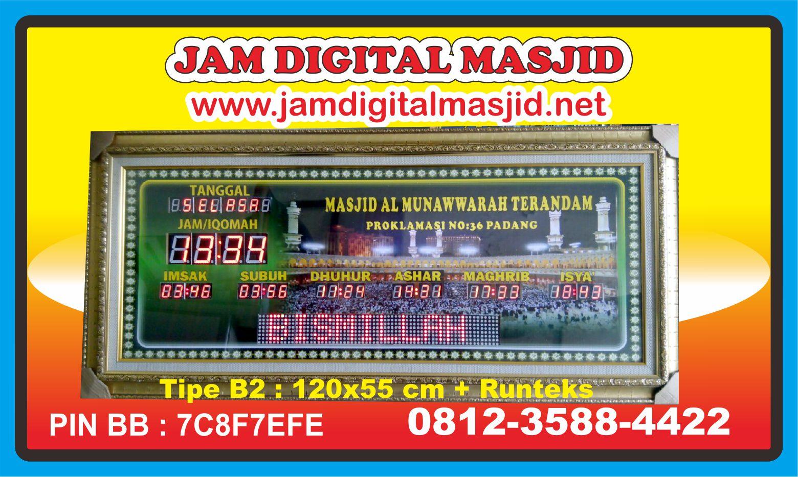 jam-digital-masjid-al-munawwarah-terandam-kota-medan